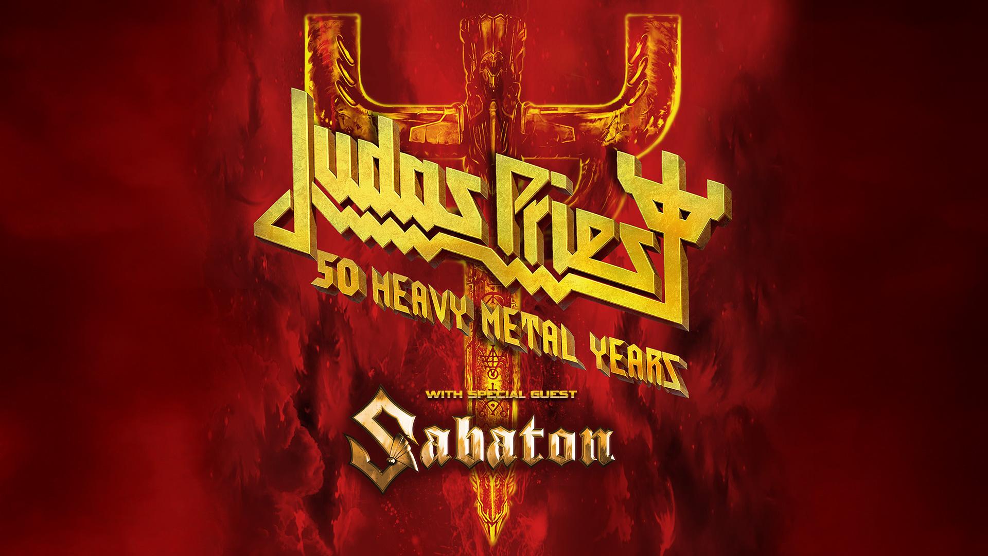 Judas Priest: 50 Heavy Metal Years @Red Hat Amphitheater, Raleigh