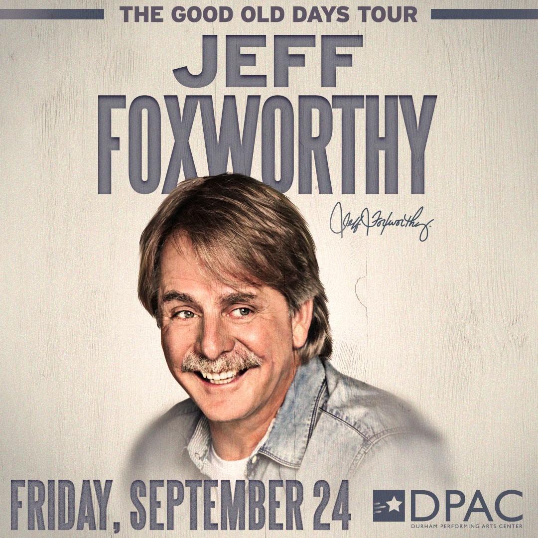 Jeff Foxworthy@ DPAC