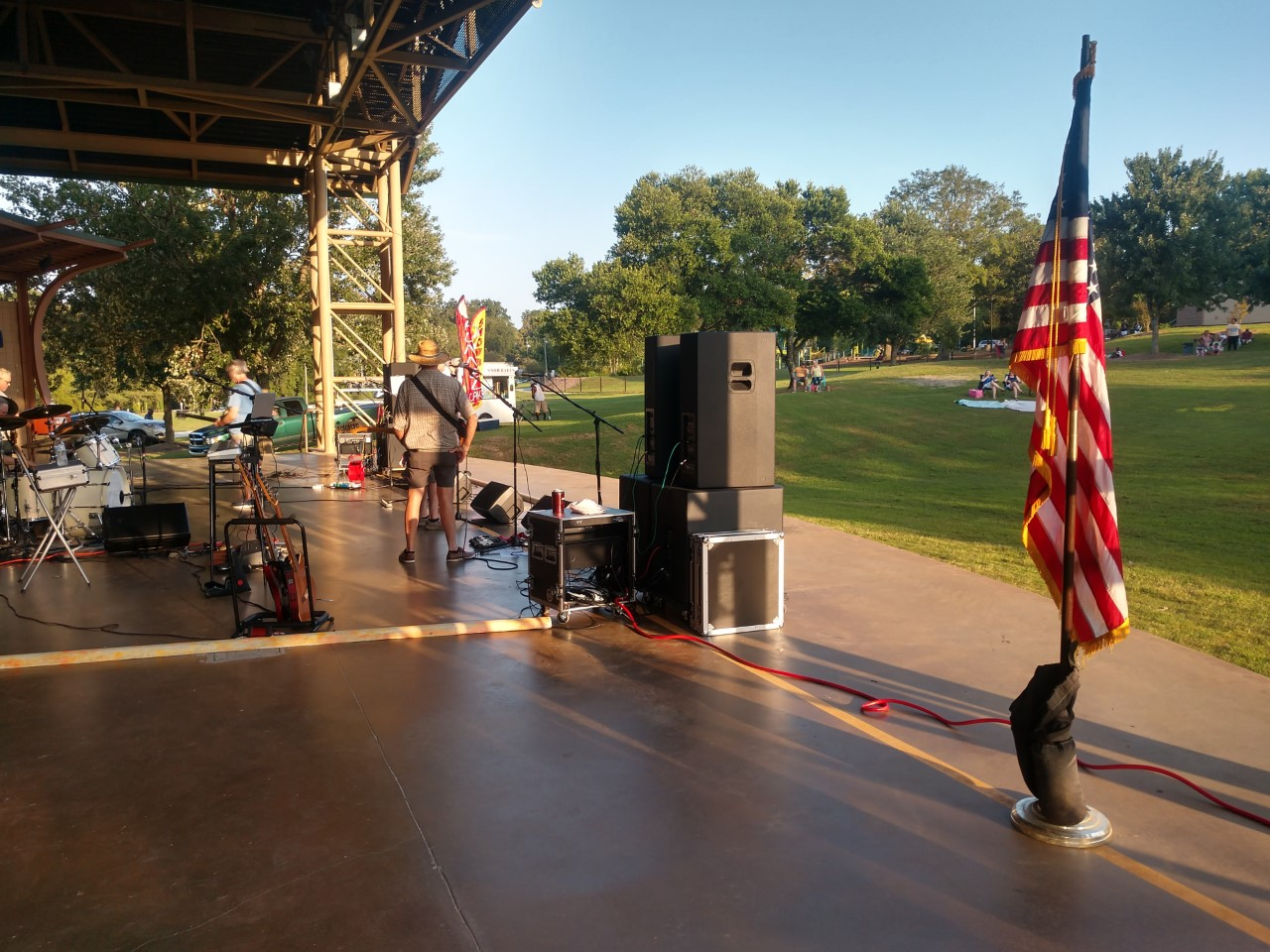 WSFL at Sunday in the Park, Greenville