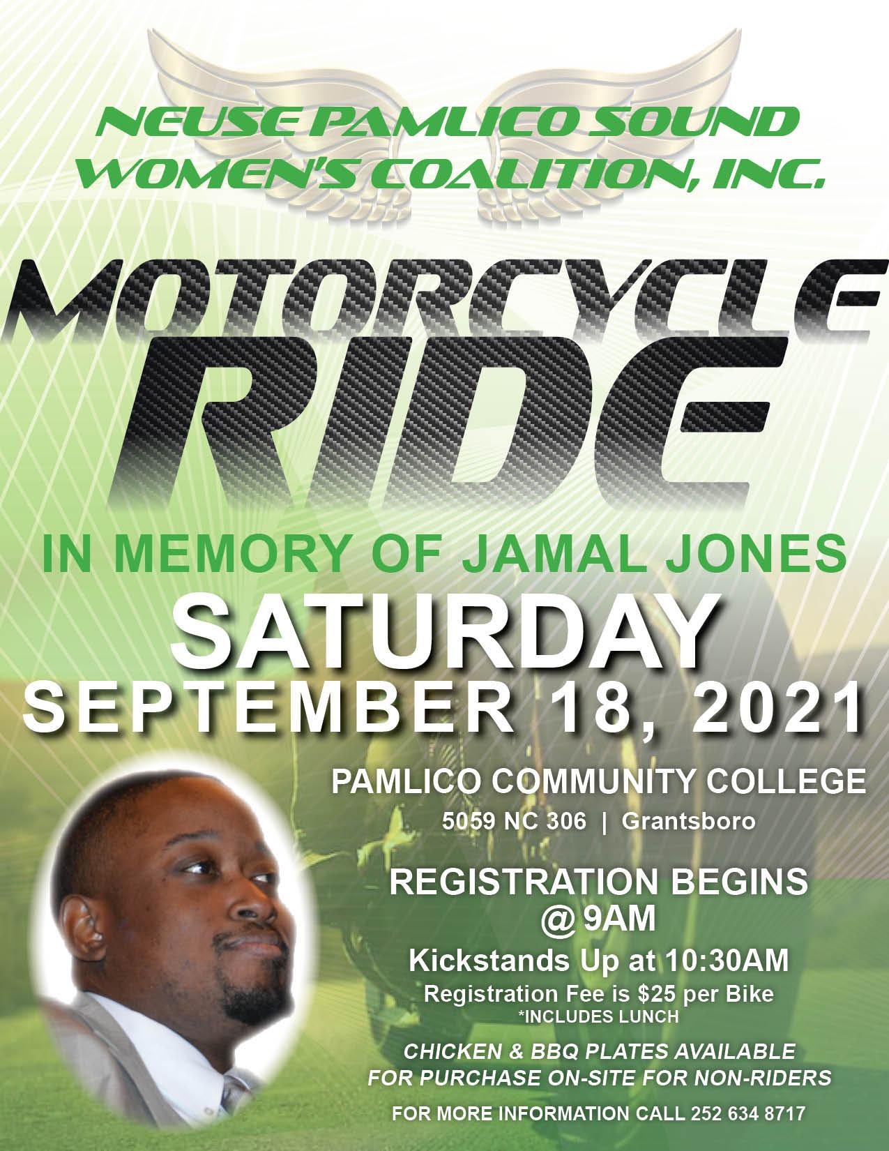 Ride In Memory of Jamal Jones