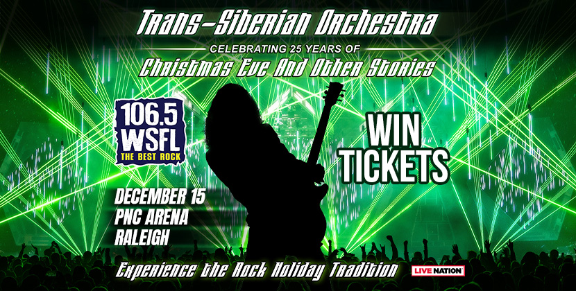 Win Tickets for Trans-Siberian Orchestra in Raleigh!