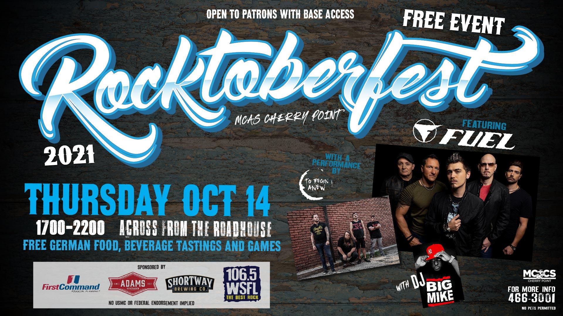 WSFL Presents Rocktoberfest@ MCAS Cherry Point