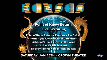 Kansas @ The Crown Theatre, Fayetteville
