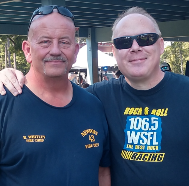 WSFL Hangs Out For the 3rd Annual Newport Fireman's Day