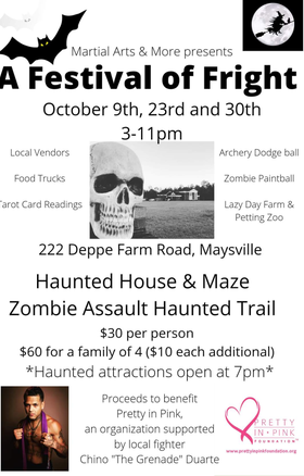 Zombie Shoot/Festival of Fright, Maysville