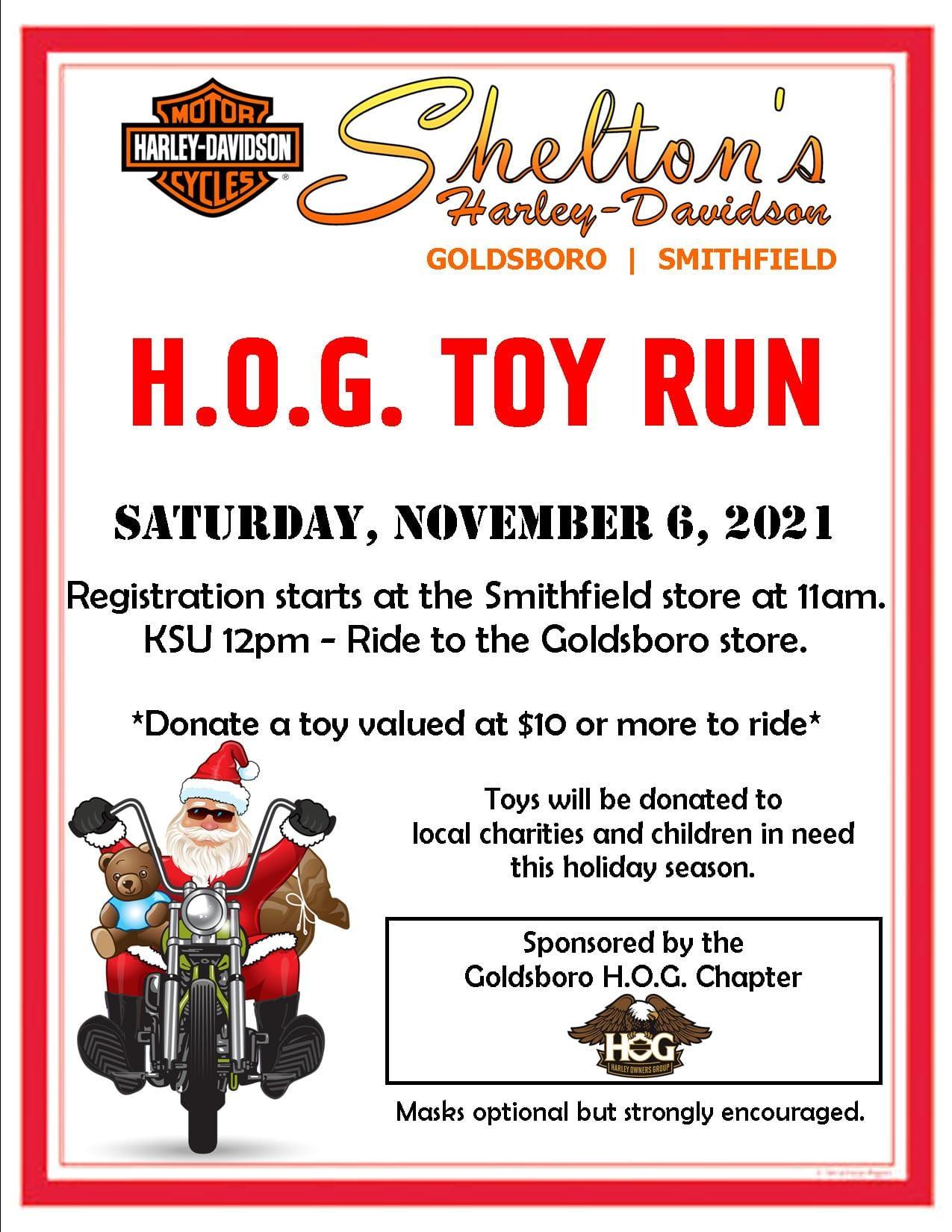 Goldsboro H.O.G. Chapter Toy Run