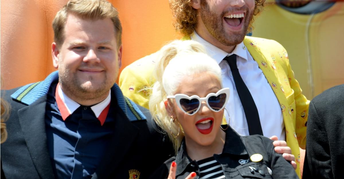 (WATCH) Christina Aguilera rocks Carpool Karaoke with James Corden!