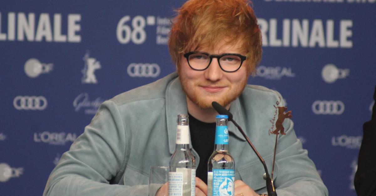 Ed Sheeran donates Lego Head