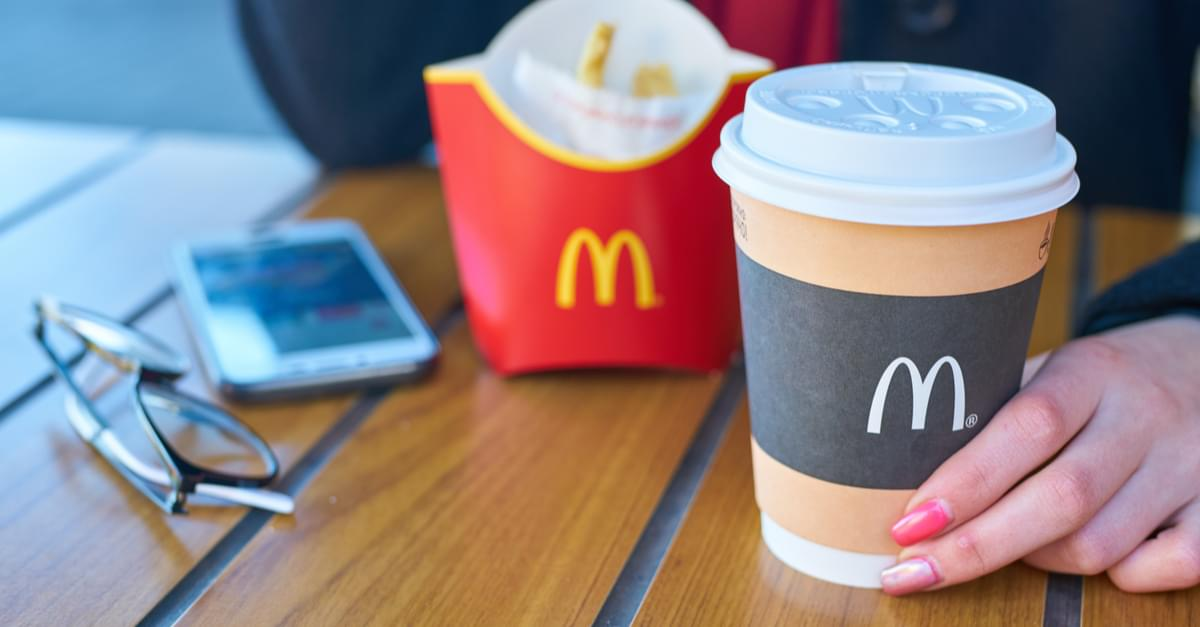 McDonald's Serves Cleaning Fluid Latte