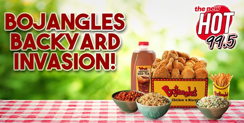 Win A Bojangles Backyard Invasion!