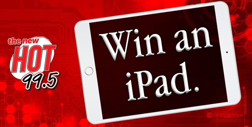 Win a HOT iPad For The New Year!