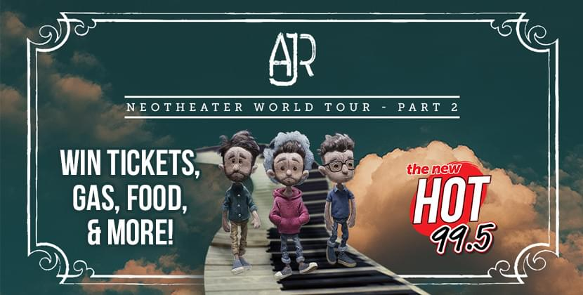 Win A Spring Road Trip To Meet AJR!