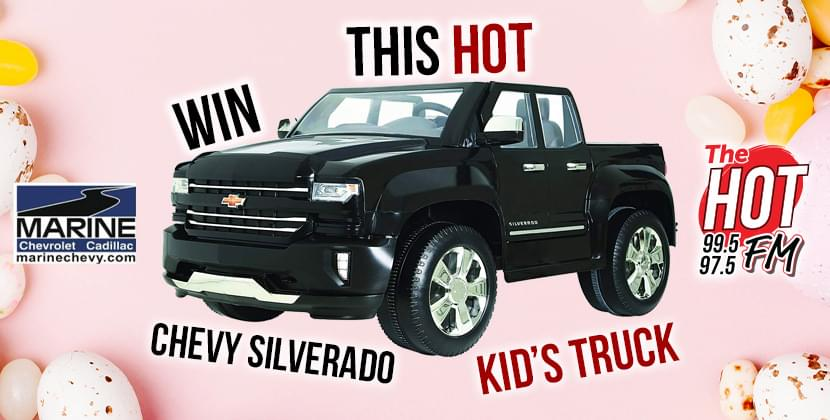 Cruise Down the Bunny Trail in a Chevy Silverado Kid's Truck!