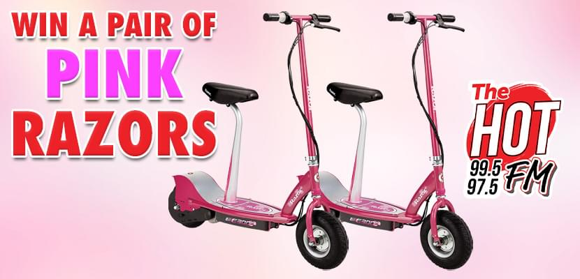 Win a Pair of Pink Razors!