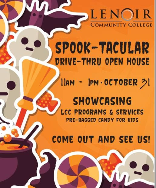 GET READY FOR A SPOOK-TACULAR NIGHT!