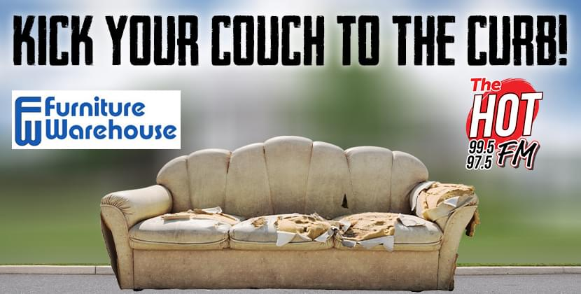 Kick Your Couch To The Curb!
