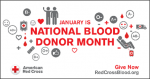 Red Cross teams with NFL to urge blood and plasma donation during National Blood Donor Month!