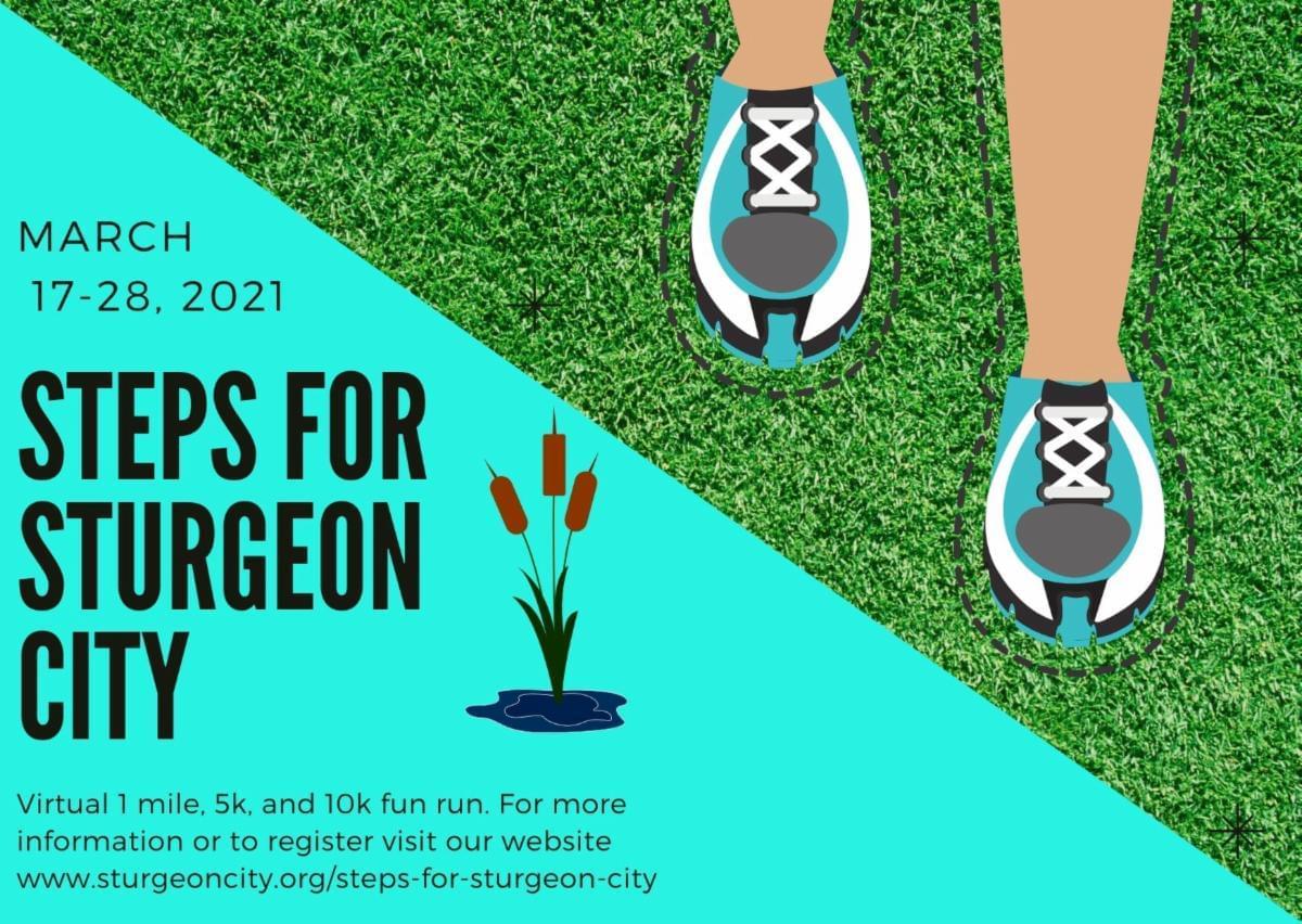 Steps for Sturgeon City Virtual Run!