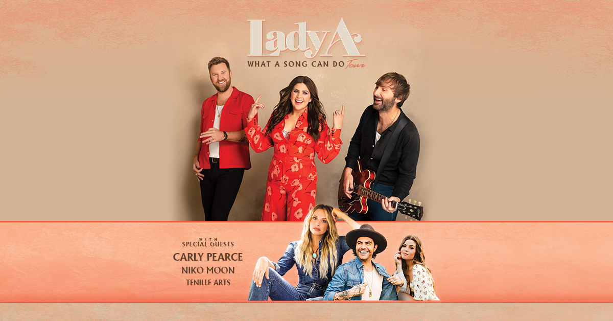 Lady A: What A Song Can Do Tour 2021 @ Riverfront Park Amphitheater in Wilmington