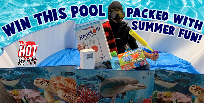 Win A Cool Pool Packed With Summer Fun!
