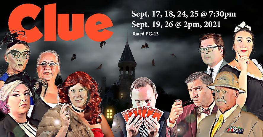 Clue @ New Bern Civic Theatre