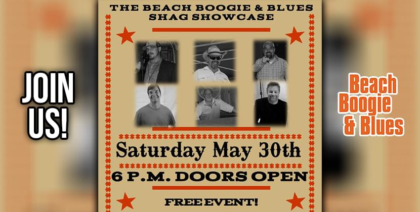 The Beach Boogie and Blues Shag Showcase!