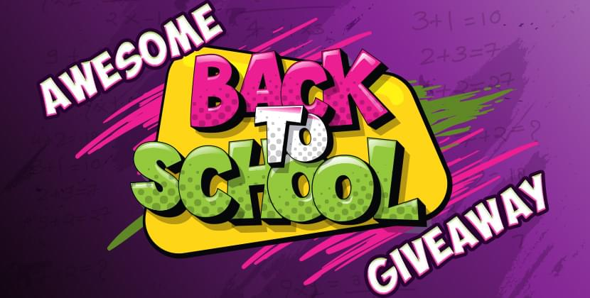 Awesome Back To School Giveaway