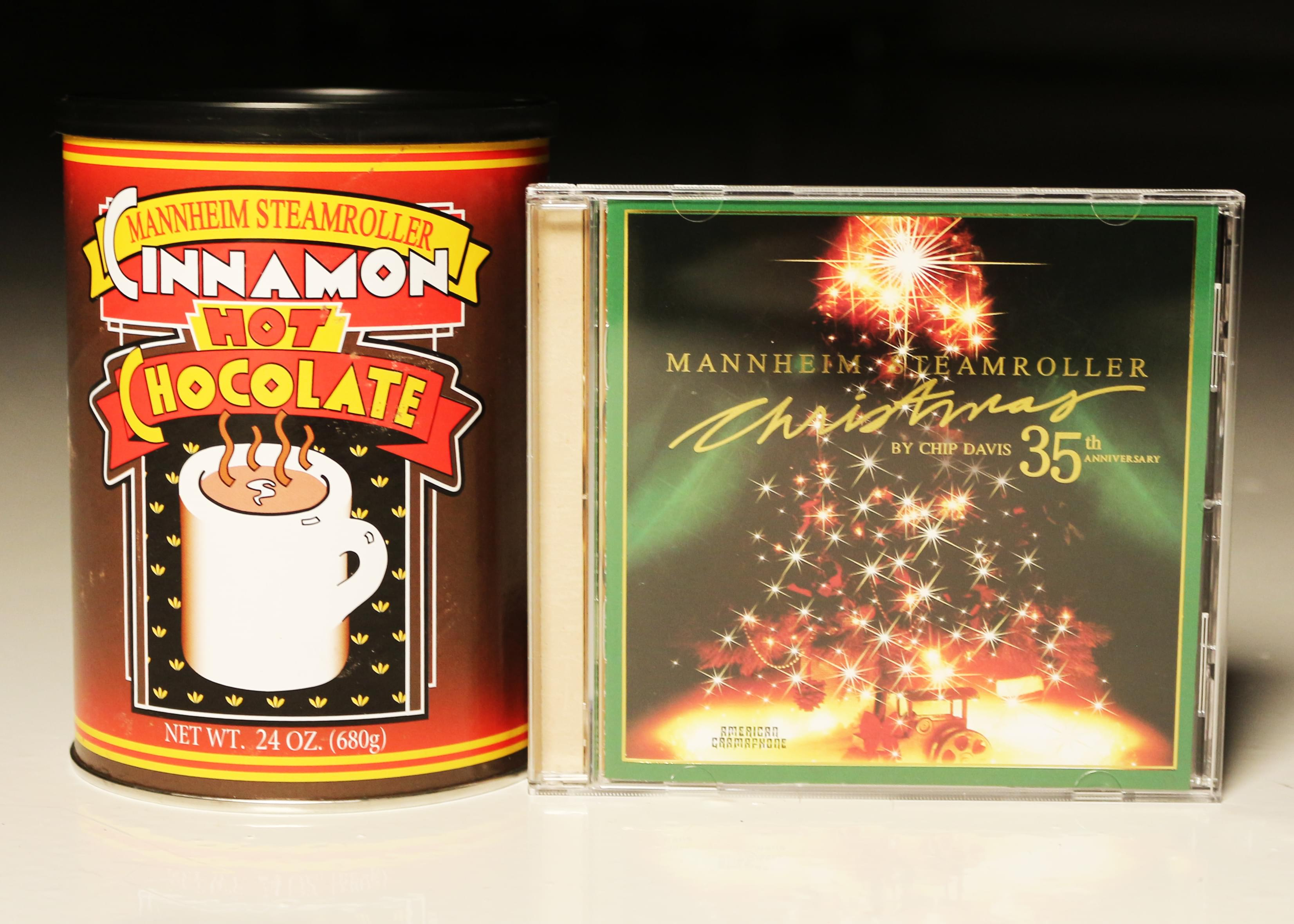 Win The Mannheim Steamroller Christmas CD & Cinnamon Hot Chocolate Mix