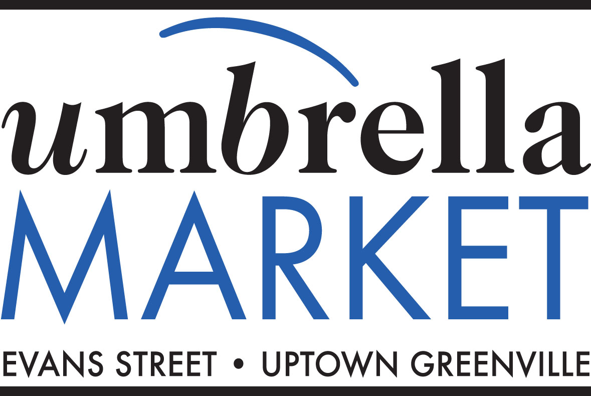 Uptown Greenville Umbrella Market @ Five Points Plaza Every Wednesday