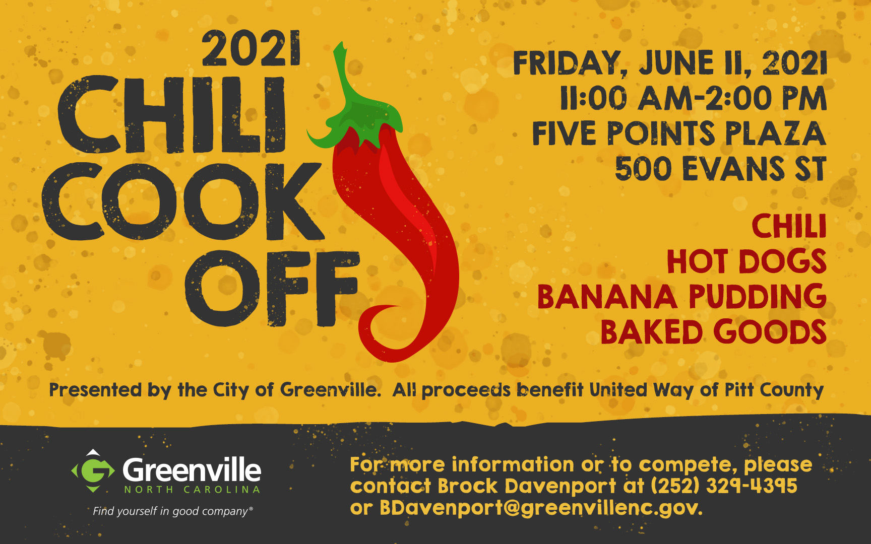 2021 Chili Cook Off – Greenville
