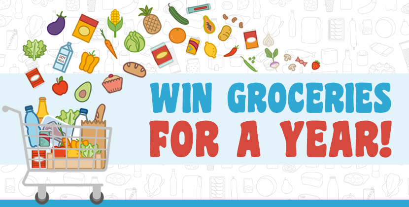 Win Free Groceries For A Year!