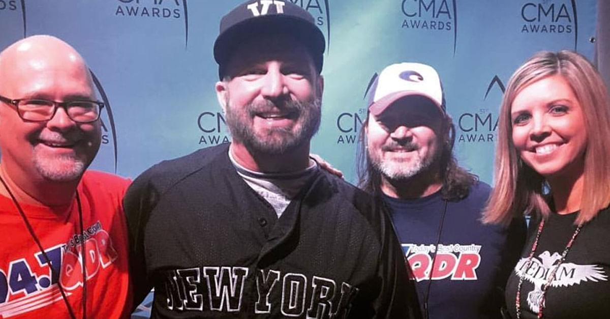 Garth Brooks at 2018 CMA