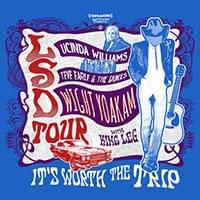 Lucinda Williams with Steve Earle & The Dukes and Dwight Yoakam