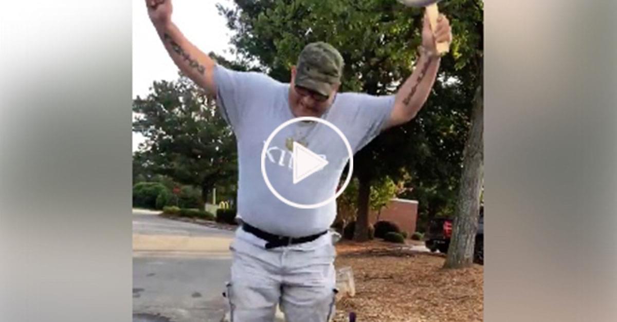 Watch: Martin dancing for Luke Bryan Tickets