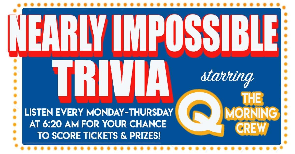 Nearly Impossible Trivia: January 9, 2019