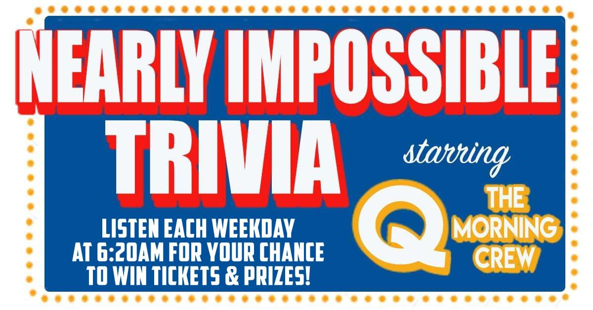 Nearly Impossible Trivia: November 8, 2019