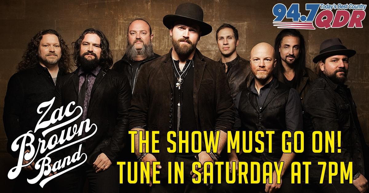 QDR brings Zac Brown to Raleigh This Saturday Night