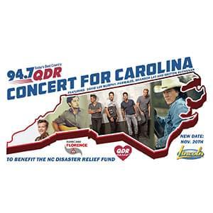 QDR's Concert for Carolina