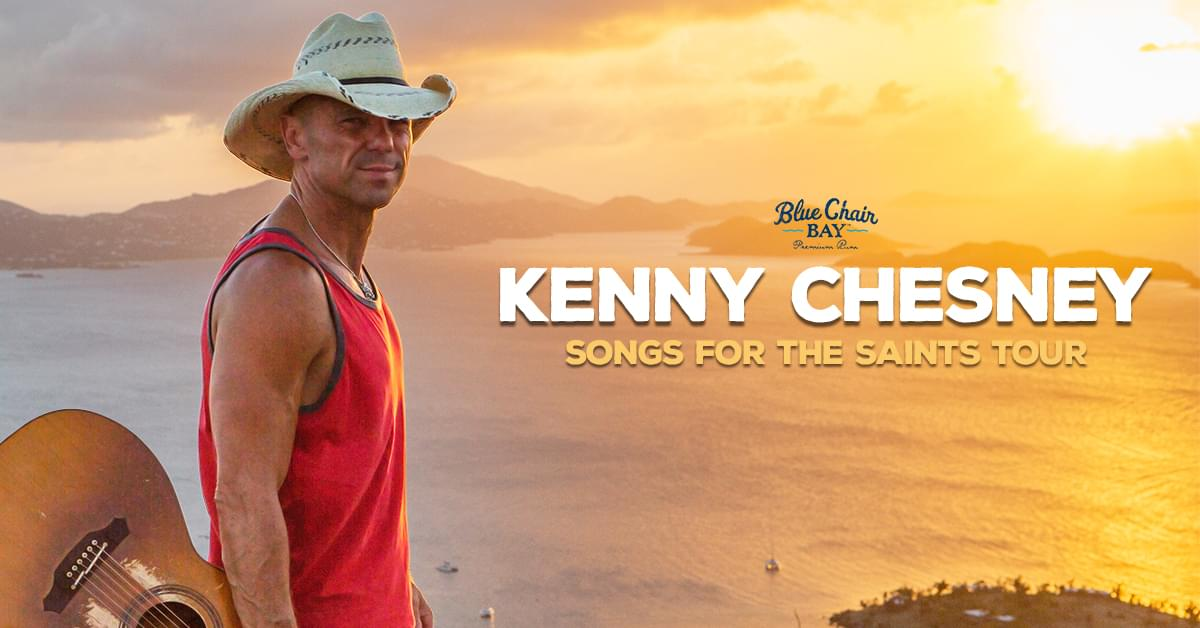 Kenny Chesney Announces Songs for the Saints 2019 Tour
