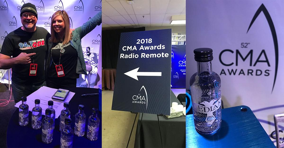 PHOTOS: Bedlam Vodka CMA Awards Broadcast