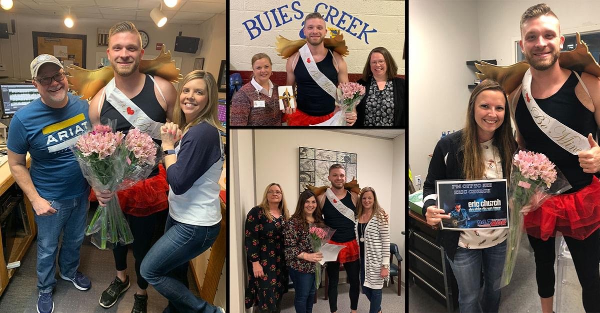 Q-Pid Spreads the Love – and Eric Church Tickets!