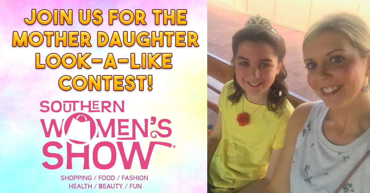 Mother Daughter Look-A-Like Contest at the Southern Women's Show