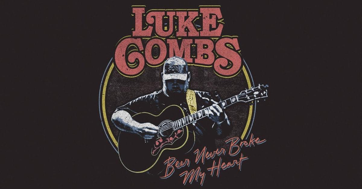 Luke Combs Releases New Single 'Beer Never Broke My Heart'
