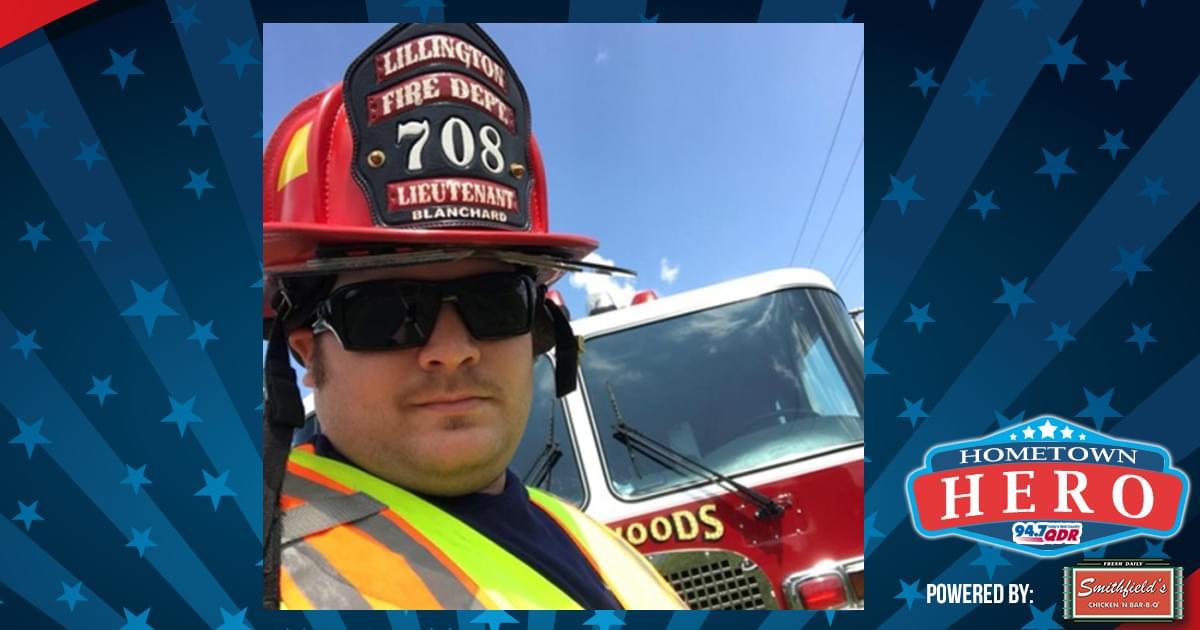 Hometown Hero May 29th: Ricky Blanchard