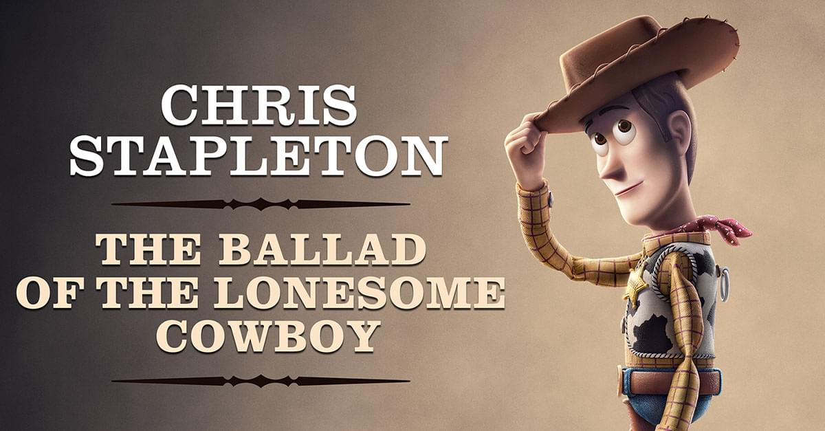 Listen to Chris Stapleton Sing 'The Ballad of the Lonesome Cowboy' From 'Toy Story 4'