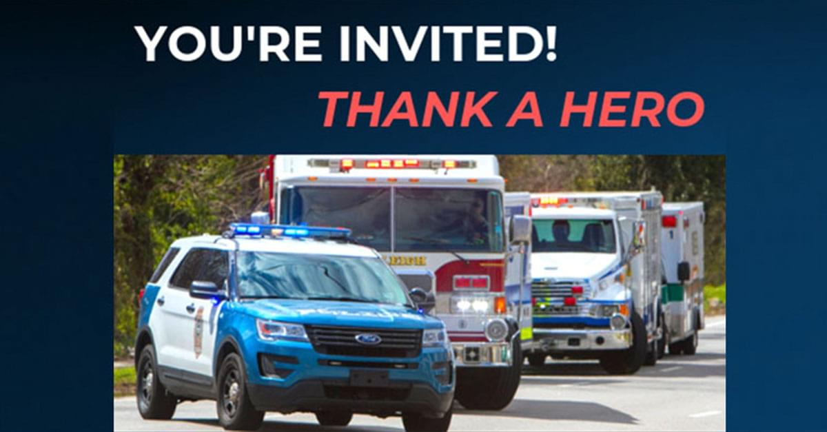 Join Us at Wake Tech for FREE Thank a Hero Lunch!
