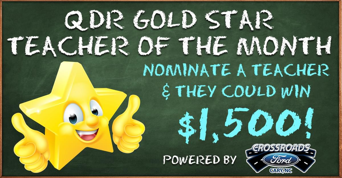 Gold Star Teacher Appreciation Month