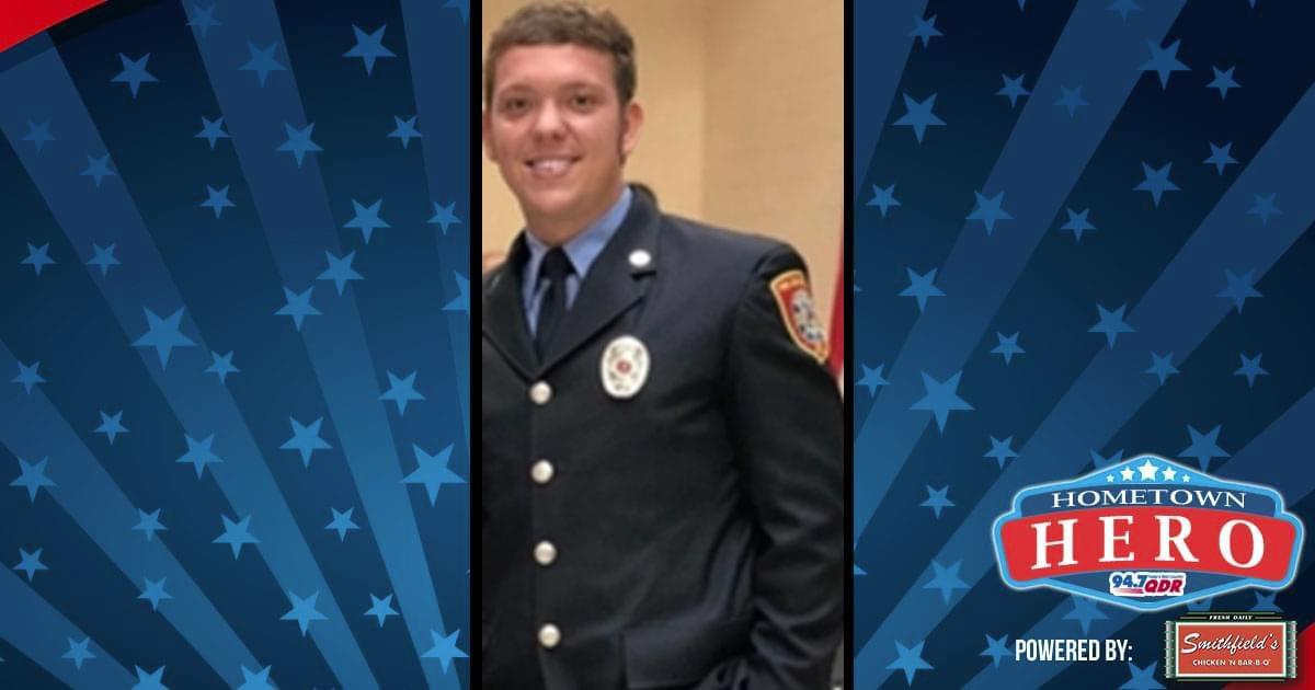 Hometown Hero September 4th: Bryan Bowden