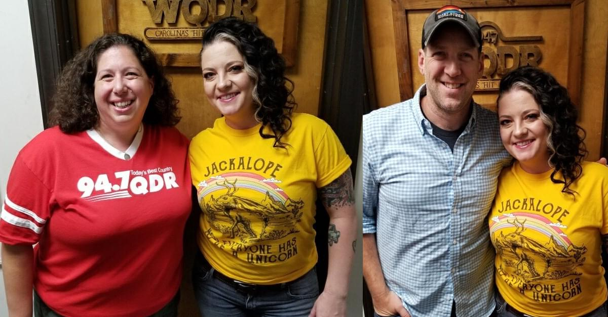 Ashley McBryde performs at QDR