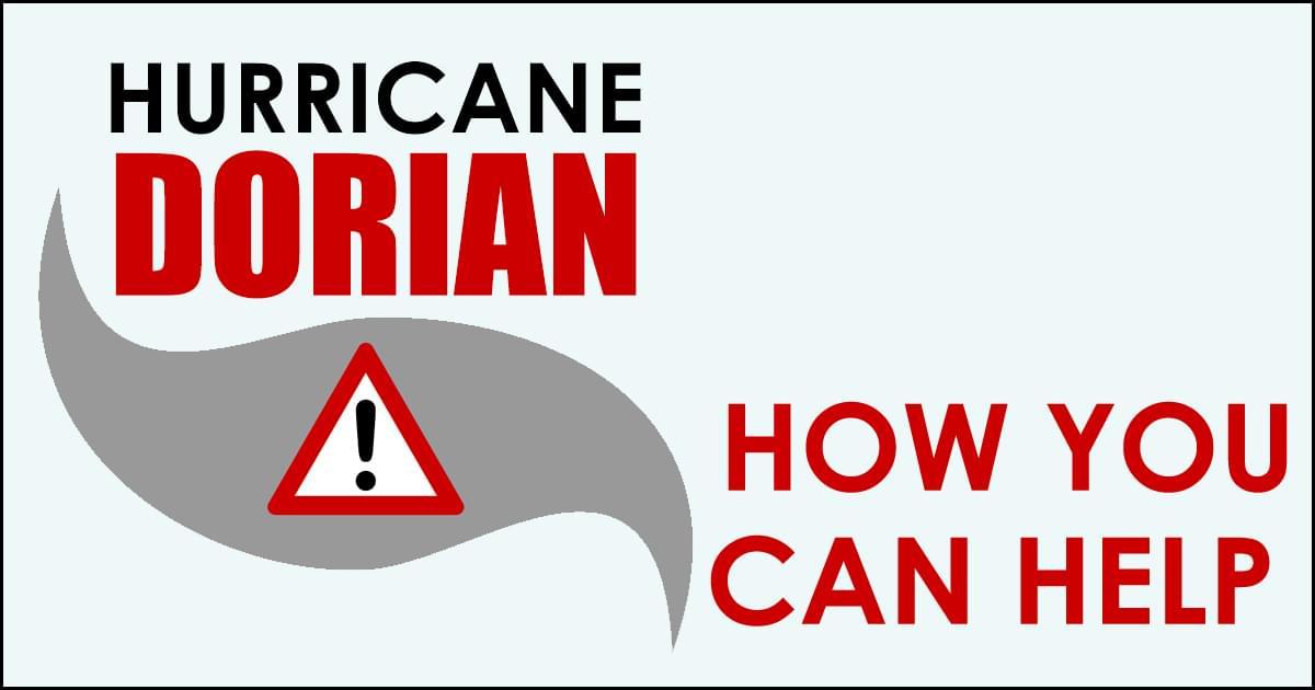 Hurricane Dorian: How to Help